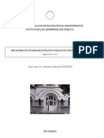 Mecanisme de Guvernare Si Politici Publice in UE