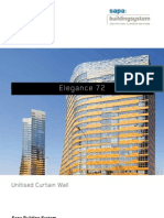 Elegance 72 - Unitised Curtain Wall - Sapa Building System