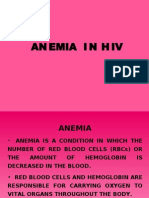 Anemia in HIV/AIDS