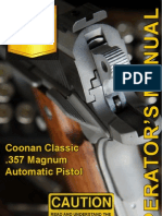 Coonan 357 Mag Owners Manual
