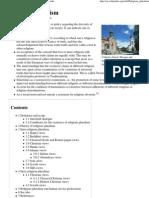 Religious Pluralism - Wikipedia, The Free Encyclopedia
