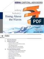 Indian Banking Industry - Rising Above the Waves, January 2013