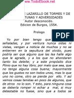 Anonimo - Lazarillo de Tormes I - V1.0