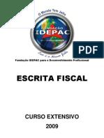 Contabeis - Escrita Fiscal 2009