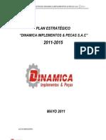 57531394 Ejemplo de Plan Estrategico Dinamica y Piezas Sac