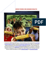 Genetically Modified Foods on Human Health