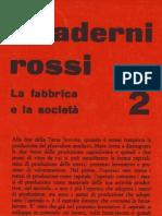 Quaderni rossi 2.La fabbrica e la società