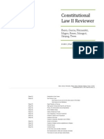 Constitutional Law II Reviewer
