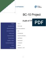 FPSO Audit Report