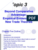 Topic 3 - New Trade Theories