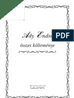 Ady Endre összes versei