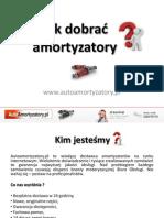 Jakie amortyzatory wybrać? - AutoAmortyzatory.pl