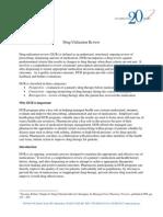 Drug Utilization Review