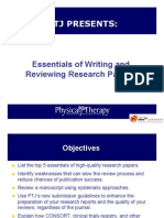 5 Essentials of Writing Research Reports