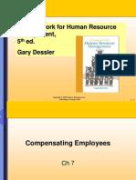 Dessler Ch7Compensating Employees