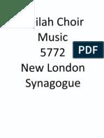 NLS Neilah Choir