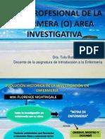 Perfil Profeional de La Enfermera (o)Investigativa