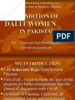 Status Of Dalits/ Scheduled Castes In Pakistan