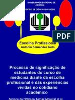 Escolha profissional dos estudantes de medicina