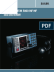 User Manual Sailor System 5000 Mfhf 150w 250w 500w