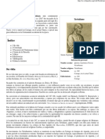 Tertuliano - Wikipedia, La Enciclopedia Libre