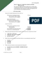 121 Mt2 Process Cost Key