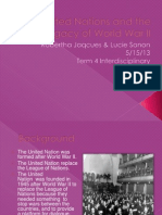 the united nations and the legacy of world