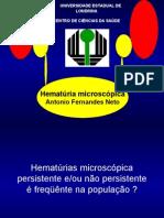 Hematúria microscópica