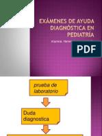 Interpretacion de Examenes Auxiliares en Pediatria