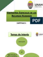 Elementos Esenciales de Los Recursos Humanos Capitulo 1