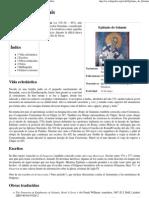 Epifanio de Salamis - Wikipedia, La Enciclopedia Libre