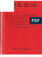 Great Anti-Imperialist Revolutionary Cause of Asian, African and Latin America Peoples is Invincible