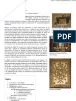 Reliquia Cristiana - Wikipedia, La Enciclopedia Libre