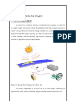 Solar Car - The Report