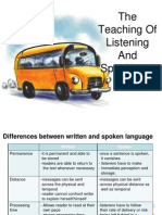 The teaching of L & S 1