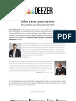 Deezer Statements BMW Koop