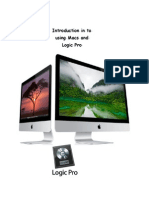 Introduction in to Using Macs and Logic Pro E-Book