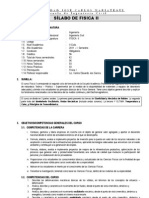 Syllabus de Fisica II Para Civil 2011