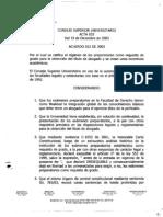 Acuerdo 022 de 2003