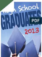 2013 High School Graduations