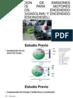 COMPROVACION DE EMISIONES VEHICULARES PARA MOTORES ALTERNATIVOS%2c.ppt