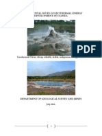 Environmental Issues of Geothermal Energy Development in Uganda