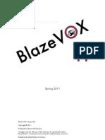 Blazevox 11 Spring 2011