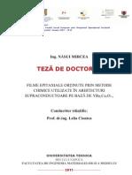 PhD Thesis Mircea Nasui