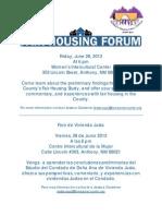 6-28-13 Fair Housing Forum