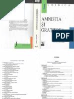 Amnistia şi graţierea - I.Mândru - 1998