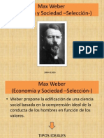 Clase 8 Max Weber