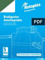 Guia Biodigestor Rotoplas