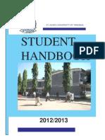 SJUT Student HandBook