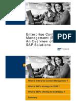 06 SAP ECM Strategy